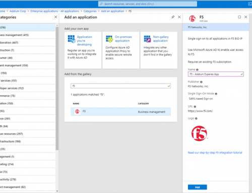 Secure all your applications with Microsoft Azure AD and F5 by SNET